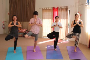 teen yoga space