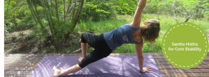 gentle hatha core stability